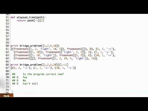 Debugging Solution - CS212 Unit 4 - Udacity
