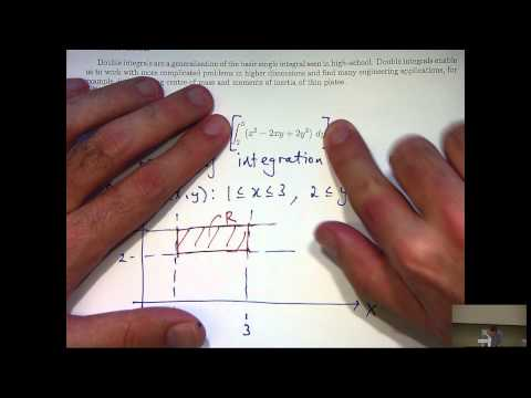 Double integral tutorial