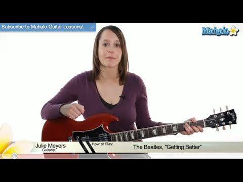 "How to Play ""Getting Better"" by The Beatles on Guitar (Lead 2)"