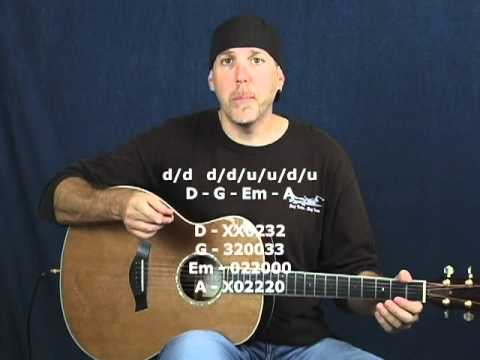 Learn guitar strumming timing & rhythm instructional lessons DVD course preview