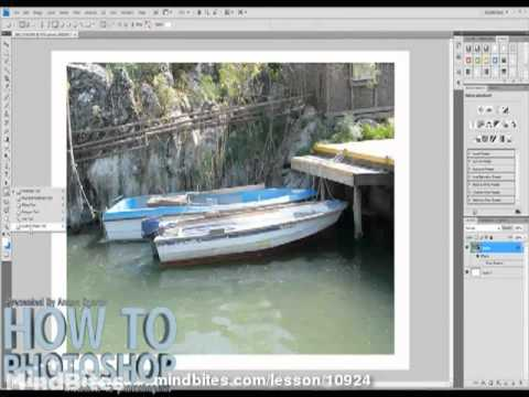 36. Photoshop: Adding frames to photos - Part 3