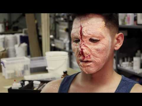 Mutant Zombie Prosthetic Makeup Fx Application Part 2