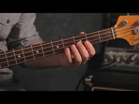 Bass Chords: How to Play an F Minor Triad