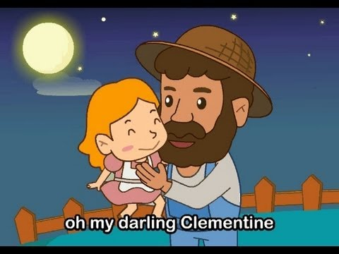 Muffin Songs - Oh My Darling, Clementine | nursery rhymes & children songs with lyrics | muffin songs