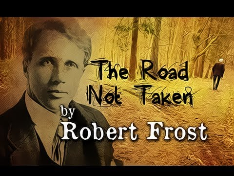 Pearls Of Wisdom - The Road Not Taken by Robert Frost - Poetry Reading