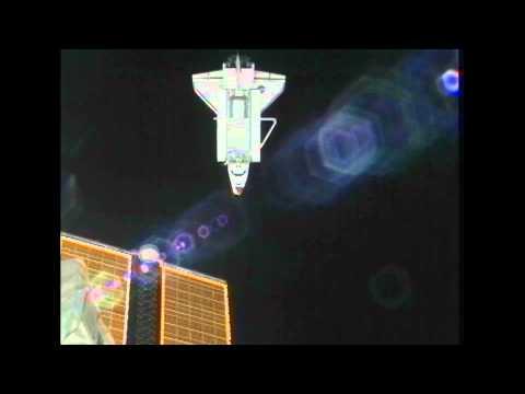 Undocking as Seen from Shuttle