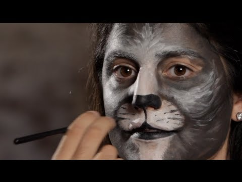 Halloween Makeup Tutorial: Cat Makeup / Mouth
