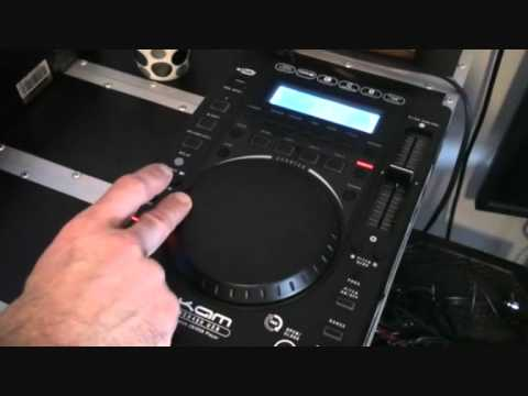 KAM KCD450 USB  Scratch function demonstration