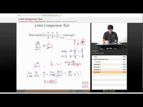 AP Calculus BC: Limit Comparison Test