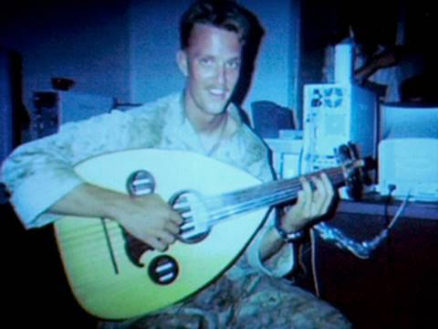 Music Bridges Cultural Gap: Marine Sniper in Iraq Learns the Oud