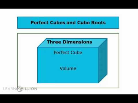 Identify perfect cubes and find cube roots - 8.EE.2