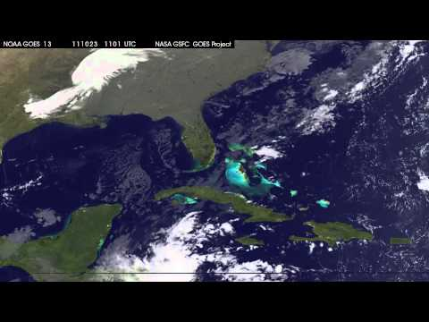 Hurricane Rina Develops in Caribbean