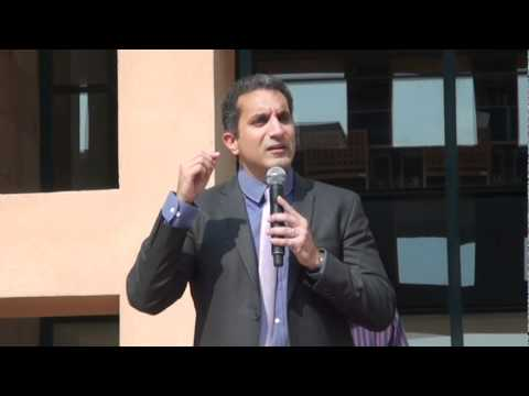 Bassem Youssef makes a special guest appearance at Alumni Homecoming 2012