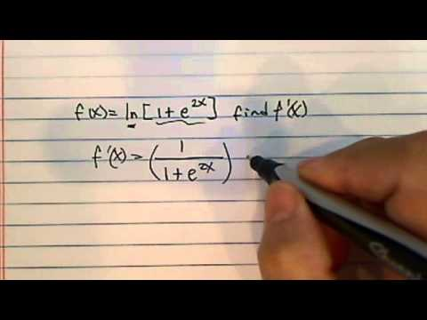 how to find derivative using chain rule??