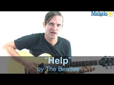 "How to Play ""Help"" by The Beatles on Guitar"