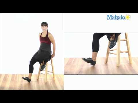How to Do Single Foot Pull Backs in Tap Dance