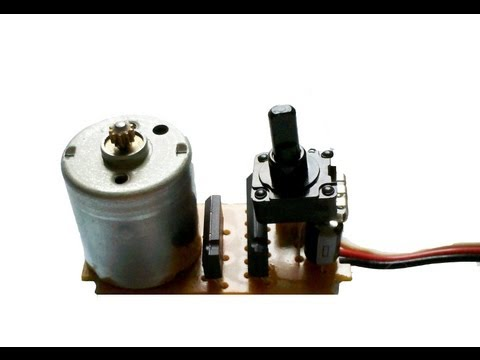 Howto: Continuous Rotation Servo