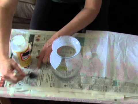You Perfect Decoupage Vase
