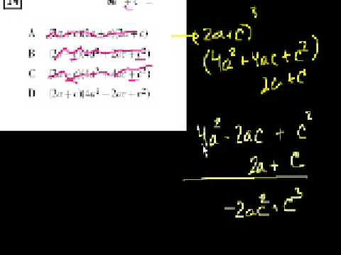CA Standards:  Algebra II