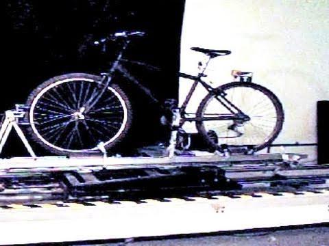 Crash Testing a Tandem Bike Rack