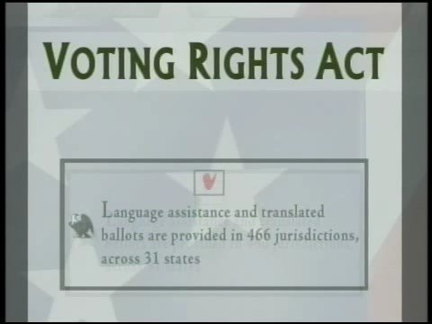 NEWSHOUR WITH JIM LEHRER   Delaying the Voting Rights Act   PBS