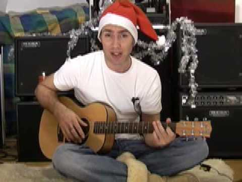 Auld Lang Syne for Solo Guitar #4of4 (Christmas Songs Guitar Lesson ST-101) How to play