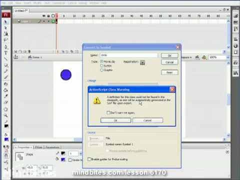 ActionScript 3 Animation 19: Animate in a Circle