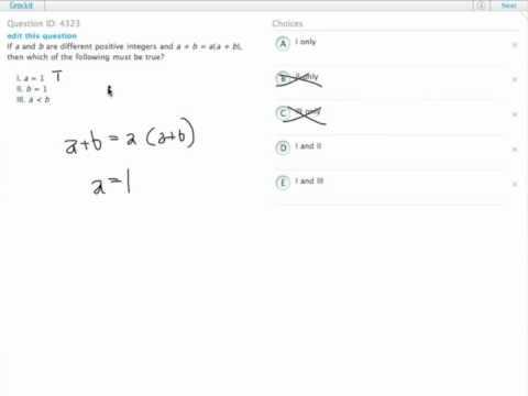 Grockit GMAT Quantitative - Problem Solving: Question 4323