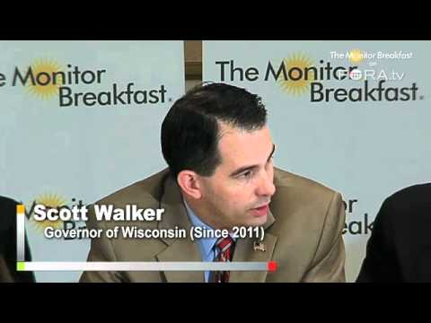 Gov. Walker: Pensions and Healthcare a 'Virus' Eating Government Budgets