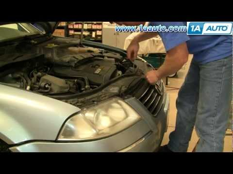 How To Install Replace Front Grille Volkswagen Passat 1AAuto.com