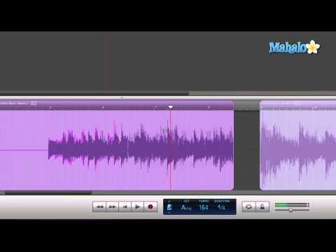 Plus Tool Split Editing- GarageBand Tutorial