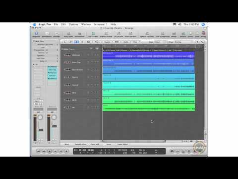 Apple Logic Pro 8 Ch 16 The Bounce Window Opening Bounce Settings