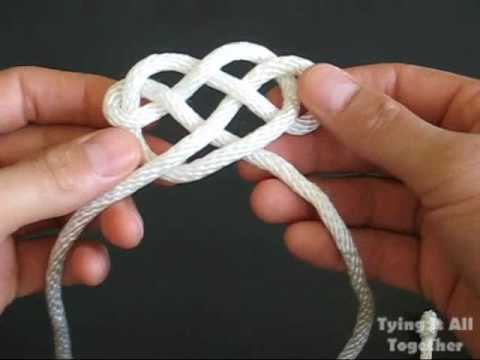 How to Tie Pendent Knots (TIAT Logo)
