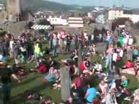 ABERYSTWYTH CASTLE ROCK 2008 VIDEO 2