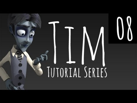 Tim - Pt 08 - Further texture painting, Eyeballs