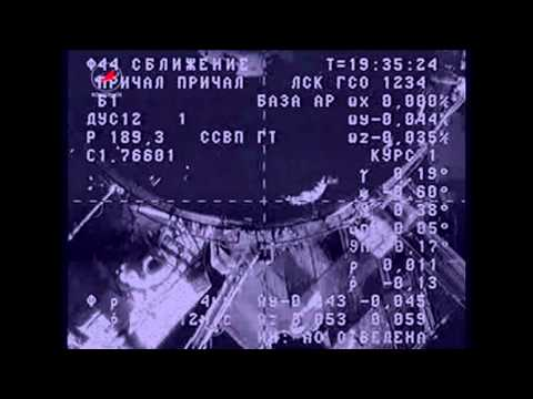 Cargo Ship Joins Up with ISS