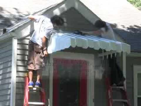 Installing the Aluma Vent Awning Door Canopy - Part 2