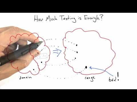 How Much Testing is Enough - Software Testing - Coverage Testing - Udacity