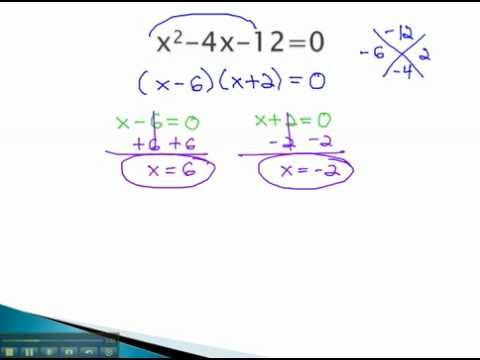 Solve by Factoring - Need to Factor - YouTube.mp4