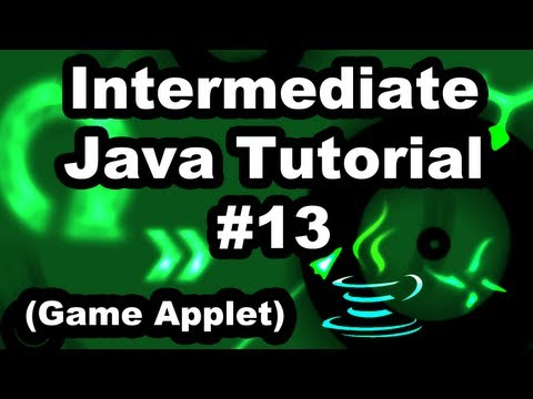Learn Java 2.13- Game Applet- More on Collision Detection