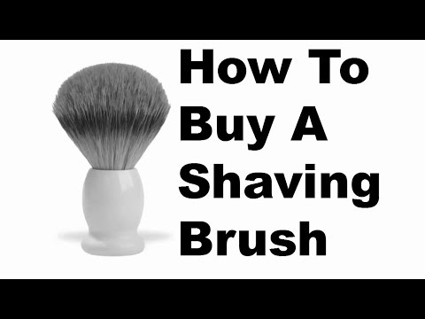 How To Buy A Shaving Brush