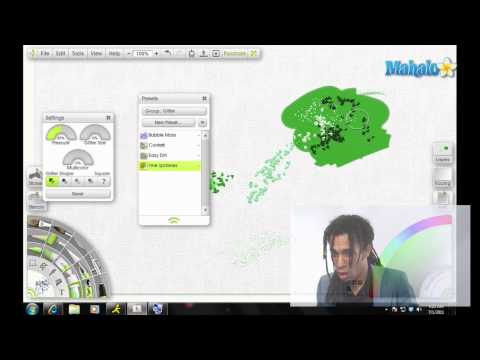 Artrage Tutorial Glitter Tube Overview