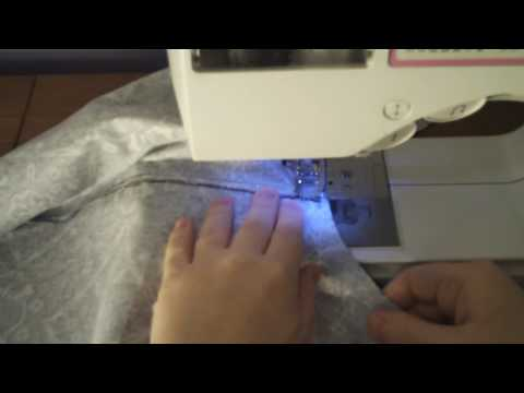 Learn to Sew 101 - Assembling the Pant Pieces Part I (Sewing the Crotch Seam) Lesson #8