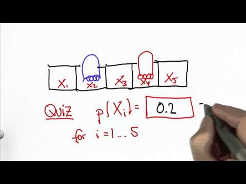 Uniform Probability Quiz Solution - CS373 Unit 1 - Udacity