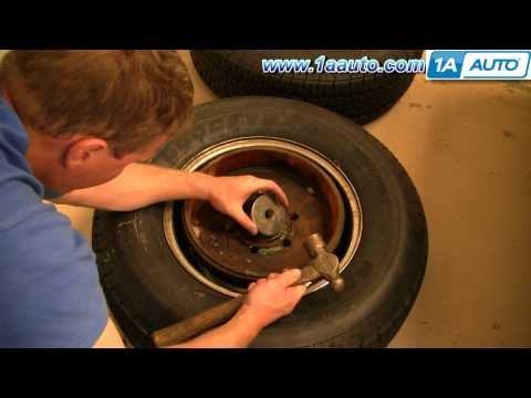 How To Install Replace Trailer Wheel Hub Bearings