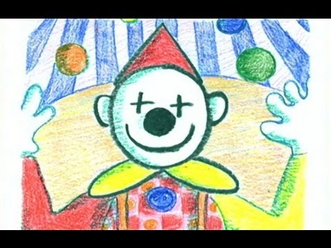 How to draw a Clown - Danny & Daddy