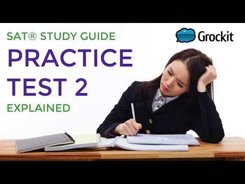 Grockit Official SAT Study Guide pg. 481-486