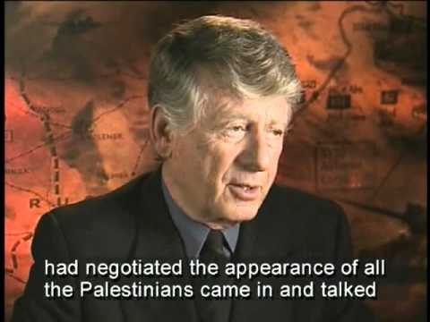 "Ted Koppel on the ""Nightline"" program from Jerusalem"