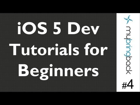 Learn Xcode 4.2 Tutorial iOS iPad iPhone 1.4 Adding View and Assigning Class