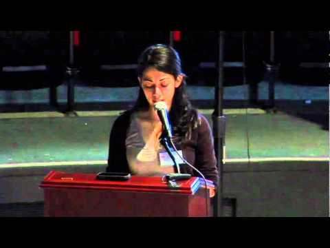 TEDxSetonHall - Dina Omar - Spoken Word for a Humble Soul